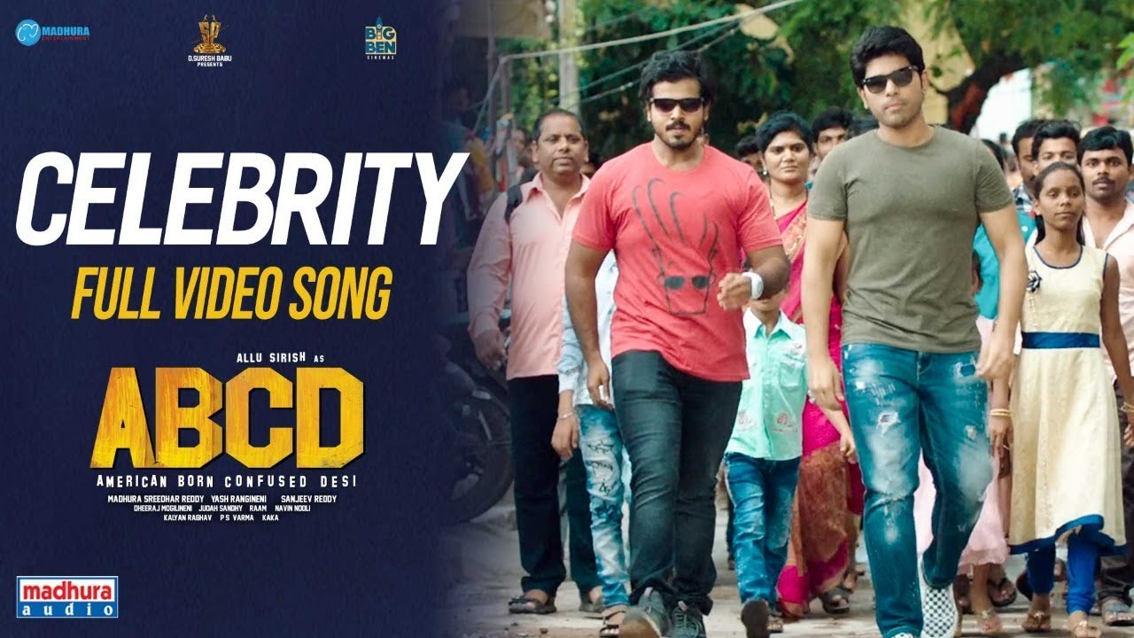 Download Celebrity Ayyaadu Full Video Song | #ABCD Telugu Movie | Allu Sirish | Rukshar Dhillon