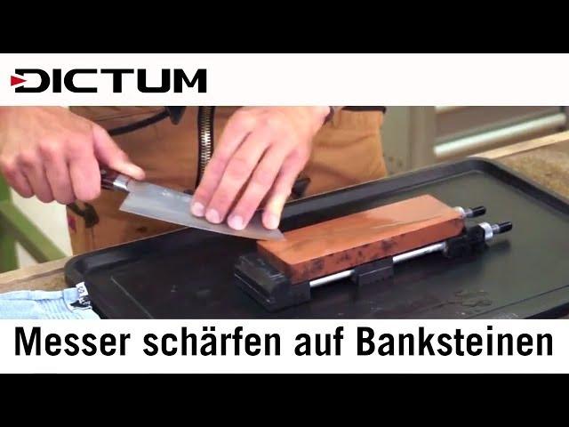 Messerschärfen auf Banksteinen - Richtig Schärfen - Tutorial / Kurs