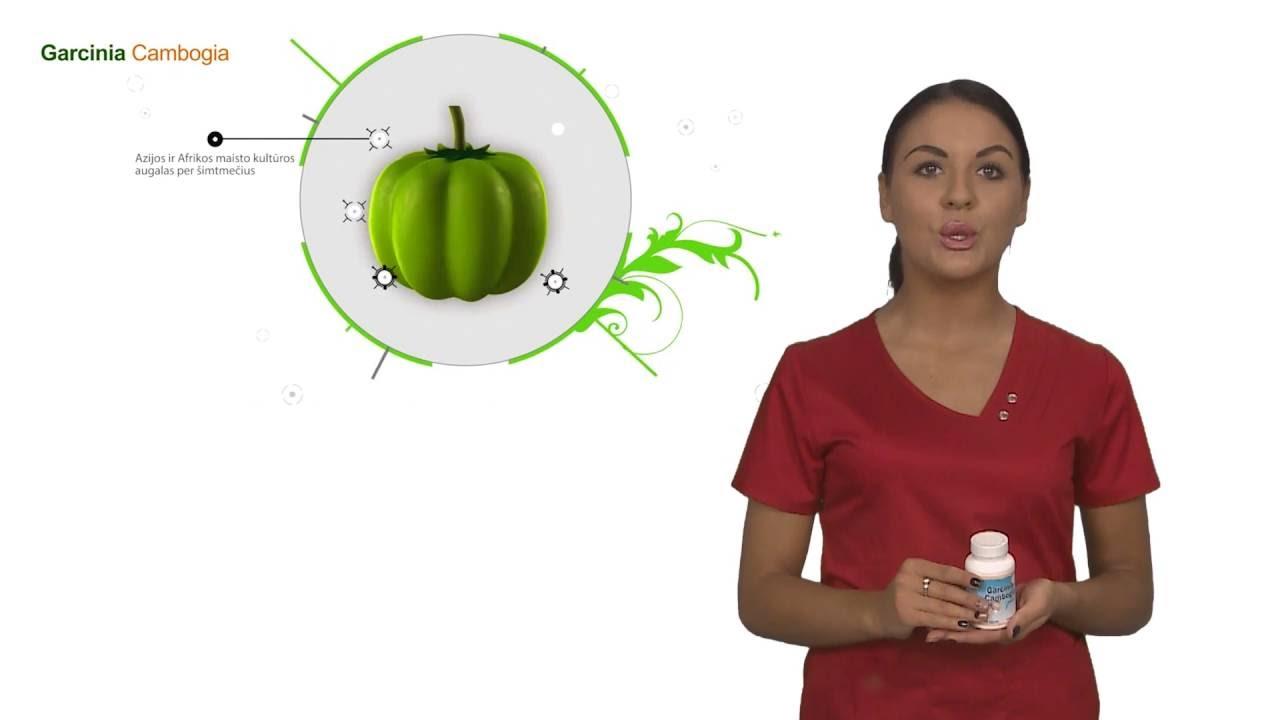 Natūralus riebalų degintojas be šalutinio poveikio