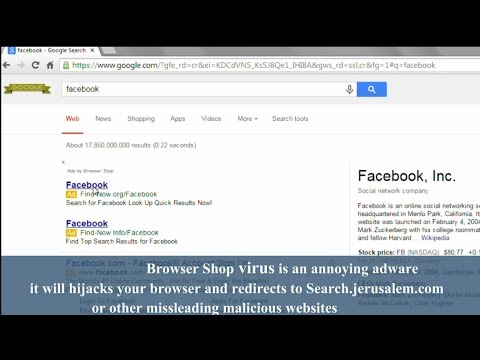 how to clear browser virus