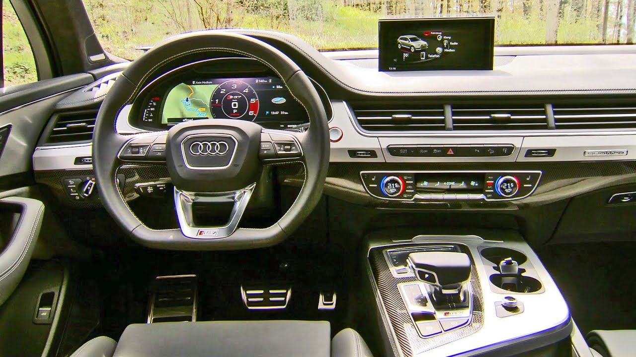 Audi Sq7 2017 Interior Youtube