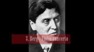 my top 10 violin concertos