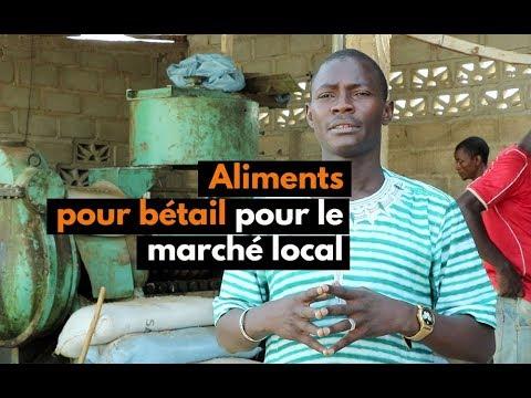 Burkina Faso : Aliments pour bétail pour le marché local