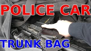 POLICE Car TRUNK Gear