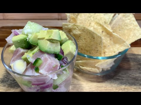 catch-and-cook-yellowtail---how-to-fillet-/-ceviche-and-spicy-poke