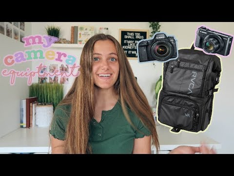 What's In My CAMERA BAG + My Camera Equipment