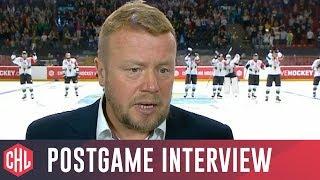 Postgame interviews: GKS Tychy vs Skellefteå AIK 1:8