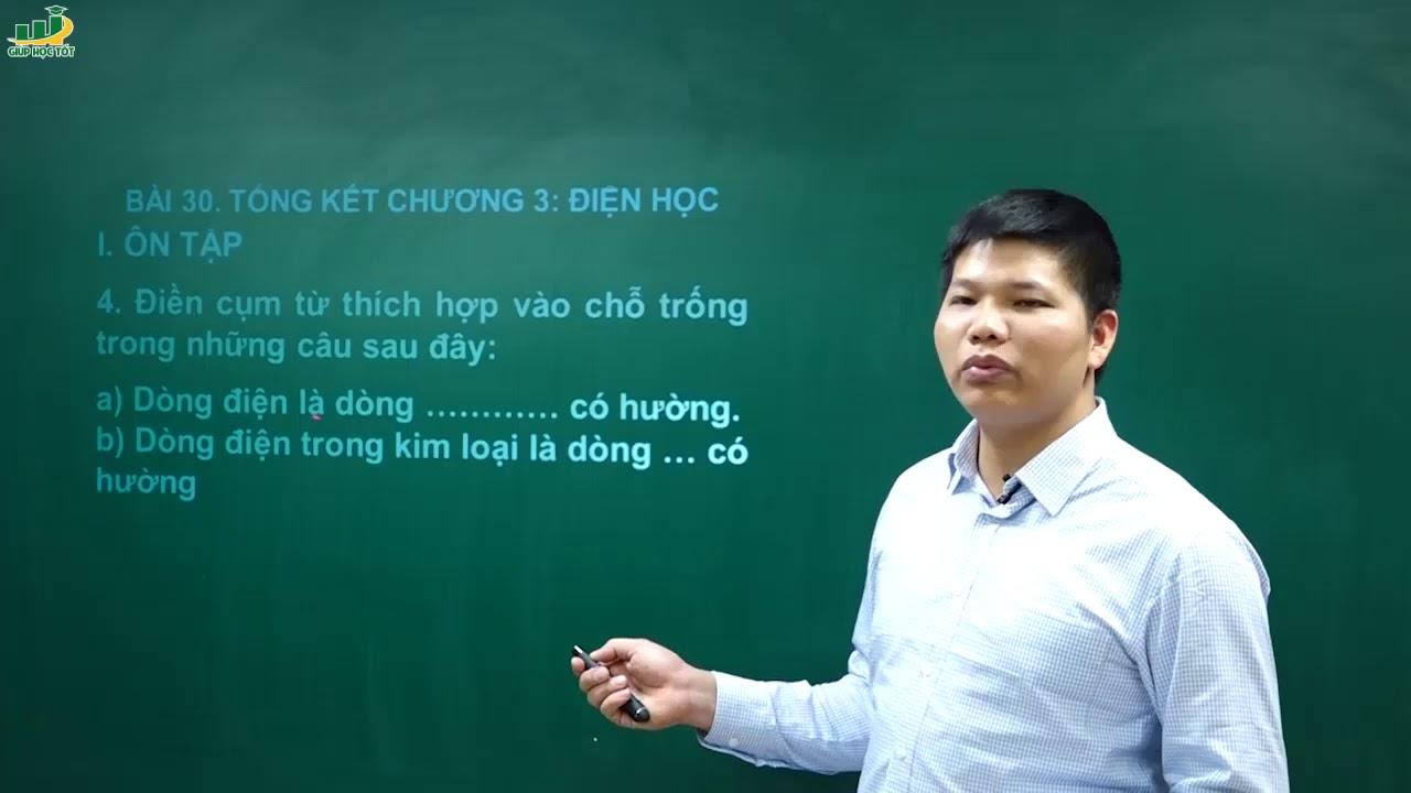 Vật Lí Lớp 7 – Bài giảng ôn tập chương 3 điện học vật lý 7| Chương Điện học|Thầy Trần Văn Huỳnh