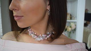 видео Колье из бусин своими руками — Ожерелье Своими Руками в Pinterest