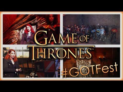 #GOTFest en Buenos Aires - El último capítulo de Game of Thrones | Los mundos de Cami  🌎