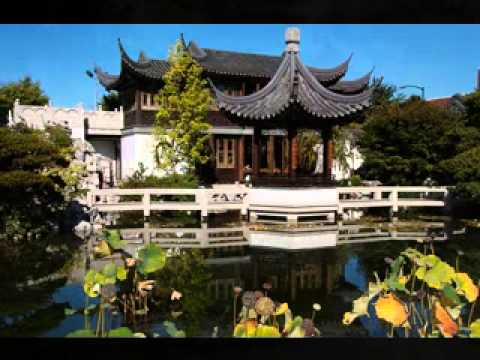 DIY Decorating ideas for Chinese garden - YouTube