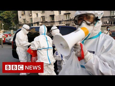 Beijing back in lockdown as city faces new surge of coronavirus cases - BBC News