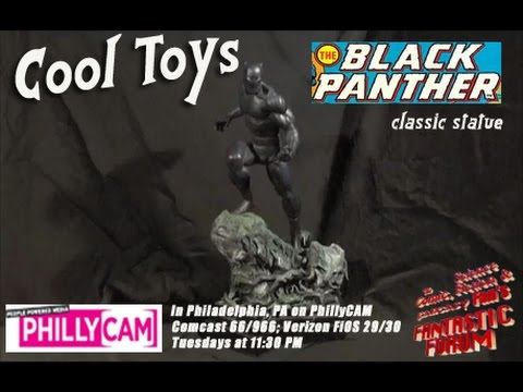 Fantastic Forum Cool Toys - Black Panther statue