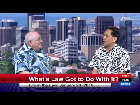 Whats Law Got to Do With It? Attorney General David Louie