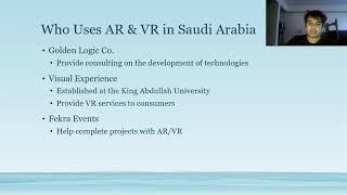 E6 - Saudi Arabia: AR & VR