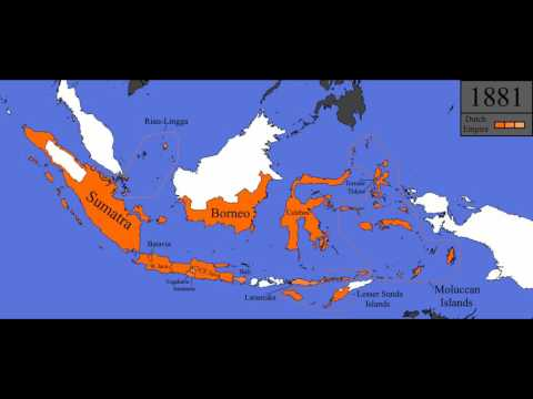 History of the Dutch East Indies: Every Year