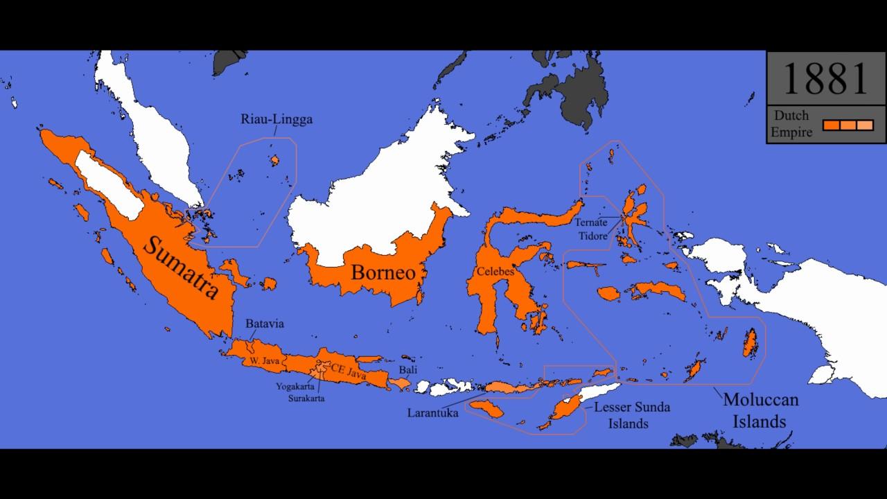 History of the Dutch East Indies Every Year YouTube