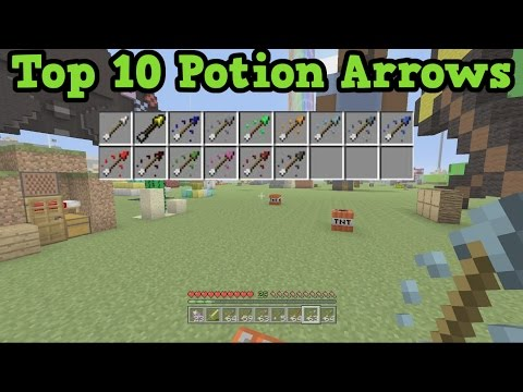 Top 10 BEST ARROWS - Minecraft Xbox One / PS4