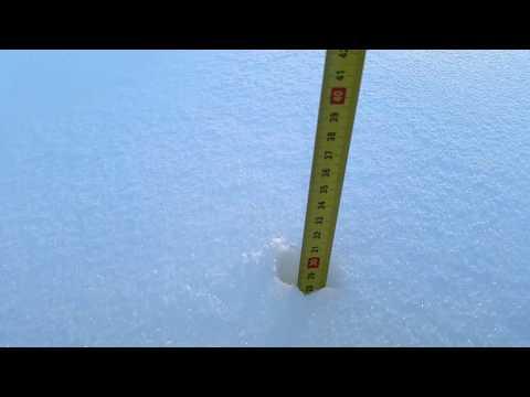 Snjór í Reykjavík - Snow in Reykjavík Iceland