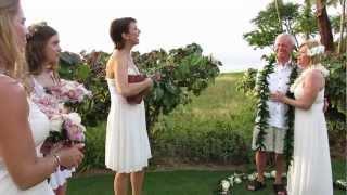 Maui Wedding - You Are My Sunshine