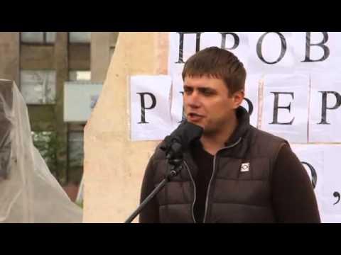 Peoples Mayor DISAPPEARED 23.05.2014  В Горловке ИСЧЕЗ бывший народный мэр Александр Сапунов