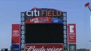 Citi Field - Foo Fighters Stage Build Time Lapse