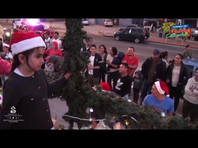 """La SAG participa en desfile de carrozas con su mensaje """"Cosechando Paz y Esperanza"""""""