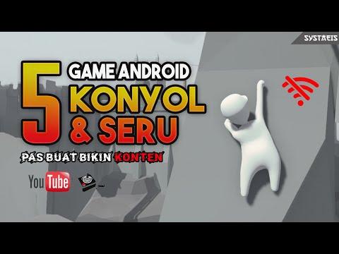 5 Game Android Konyol Dan Seru Pas Buat Konten YouTube Gaming
