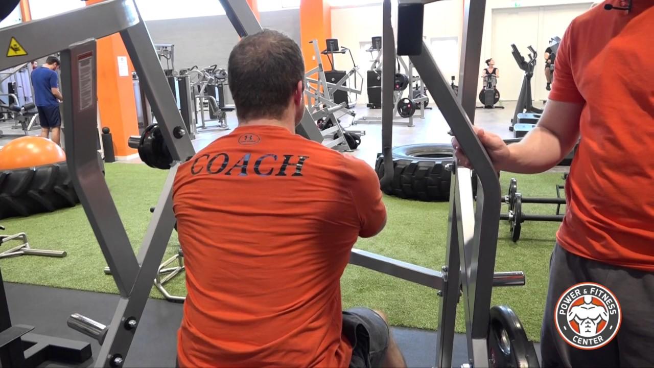 Rudermaschine - Hammer Strength Dorian Yates Row