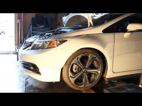 2014 Honda Civic Si Sedan TEIN Coilovers Install