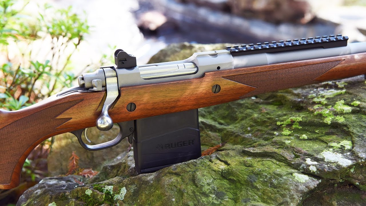 Lipsey's Exclusive: Ruger 77 Gunsite Scout