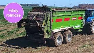 Rozrzutnik obornika na 250 hektarach i w usługach rolniczych