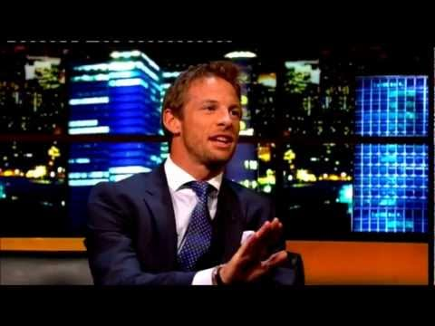 """Jenson Button"" The Jonathan Ross Show Series 3 Ep 02. August 25 2012 Part 2/5"