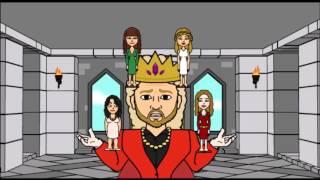 KRAL VE DÖRT EŞİ
