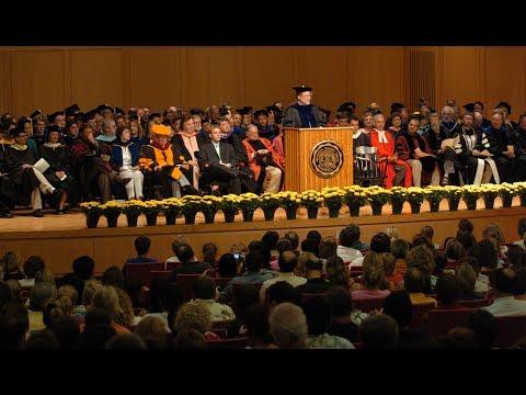 August 20, 2005 - Class of 2009 is Welcomed at DePauw University's Opening Convocation