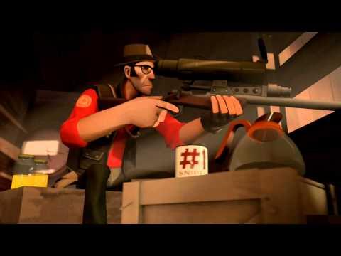 Представляем класс снайпер(Team Fortress 2)