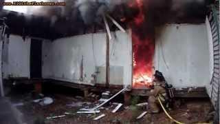 Fire Attack: Door Open vs Door Closed
