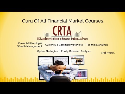 NSE Academy Certificate in Research, Trading and Advisory