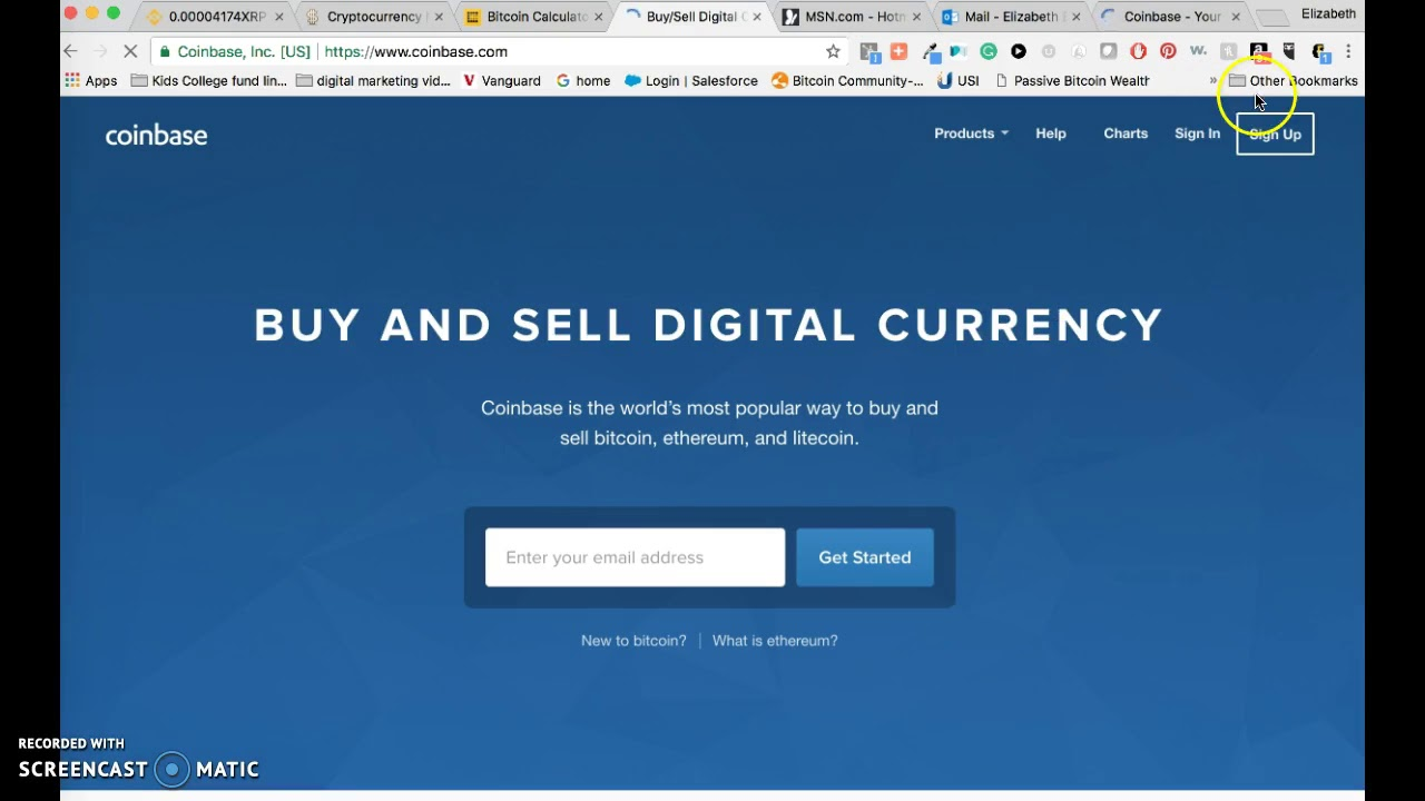 How to set up a coinbase account youtube how to set up a coinbase account ccuart Gallery