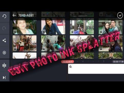 Full Download] Cara Edit Foto Ink Splash Effect Di Picsart Tutorial