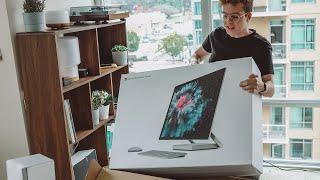 Unboxing Del Surface Studio 2...¡es Enorme!