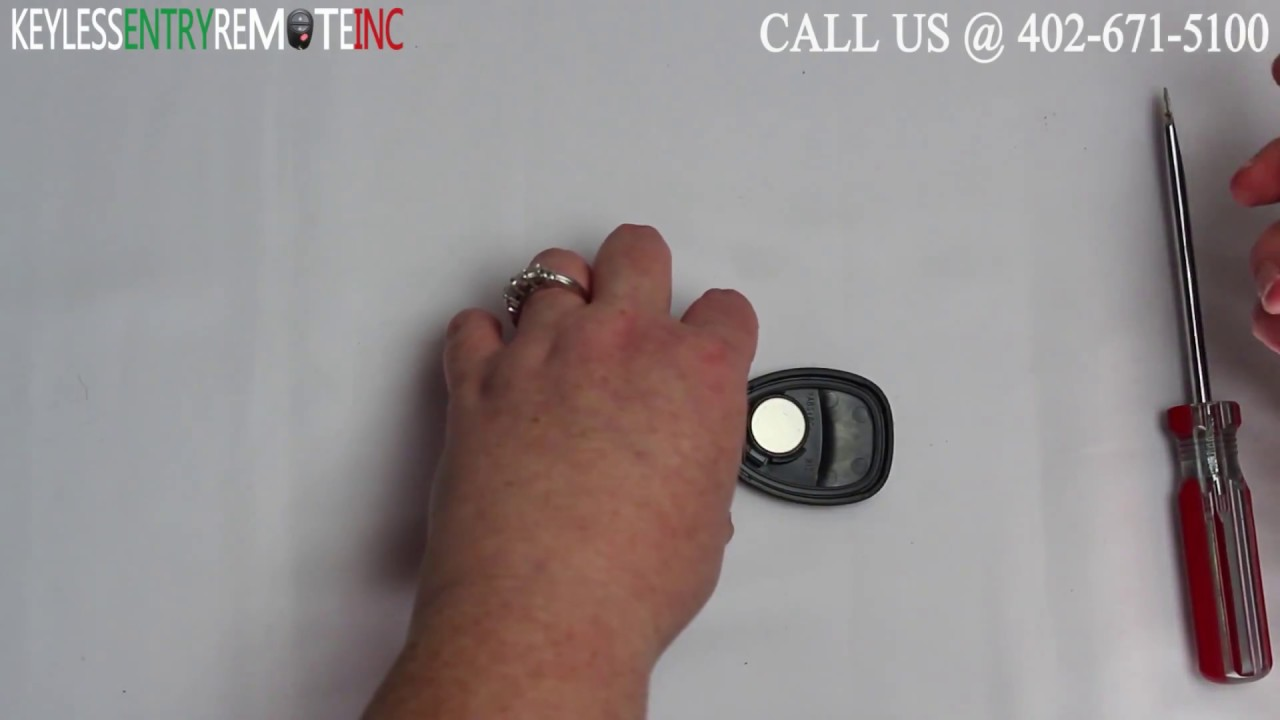 How to replace gmc acadia key fob battery 2007 2008 2009 2010 2011 2012 2013 2014