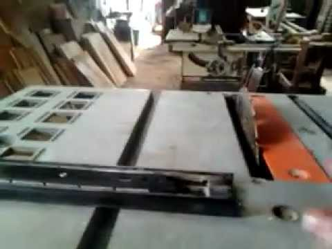 Guia paralela para sierra de mesa youtube for Sierras de mesa