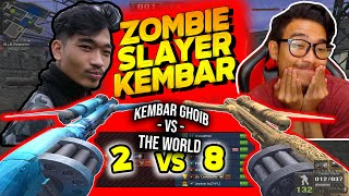#KEMBARGHOIB USE ZOMBIE SLAYER?!  KABUR SEMUA DAHH !!// Gameplay Point Blank Zepetto Indonesia