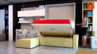 ≥ Шкаф кровать вертикальная купить в Киеве, кровати откидные и подъемные, цены, Fratelli Spinelli(Эксперт итальянской мебели компания