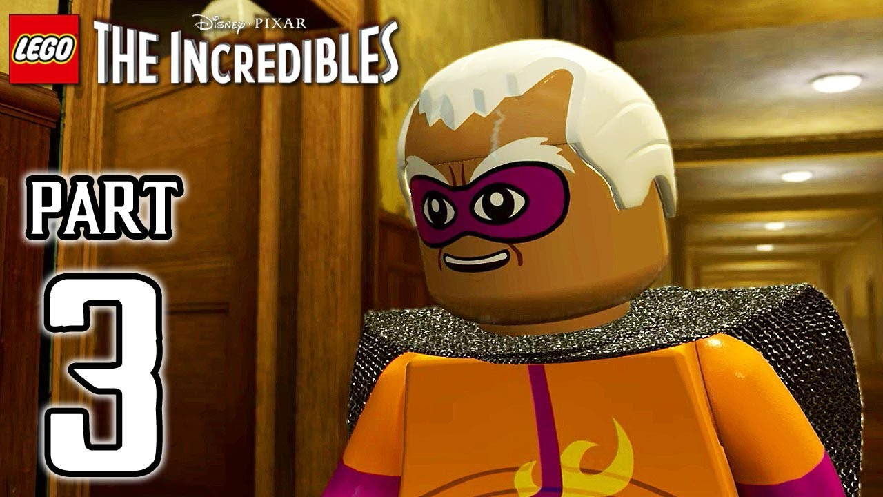 LEGO The Incredibles Walkthrough PART 3 (PS4 Pro) No Commentary @ 1080p HD ✔
