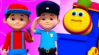 Community Helper | Learning Street With Bob The Train | Educational Videos For Children by Kids Tv
