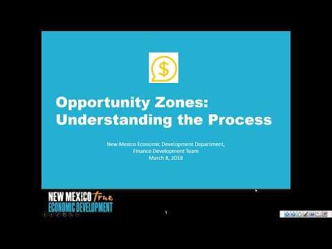 Opportunity Zones Webinar