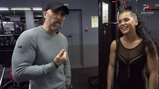 Как тренирует руки Чемпионка мира Мария Бархударова.