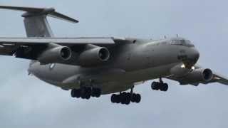 RARE ILYUSHIN IL-78 PAKISTAN AF TAKE OFF & LANDING PISA AB